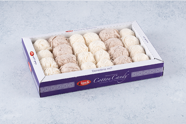 Turkish Cotton Candy Pismaniye - Floss Halva - Ipek