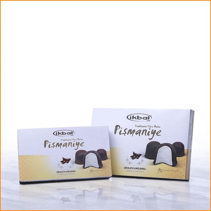 Turkish Pismaniye - Floss Halva Covered with Chocolate