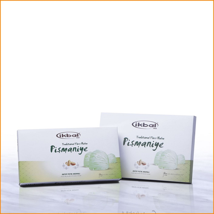 Turkish Pismaniye - Floss Halva with Pistachio Flavor
