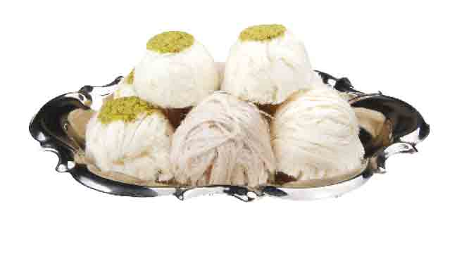 Turkish Traditional Floss Halva with Pistachio - Cotton Candy