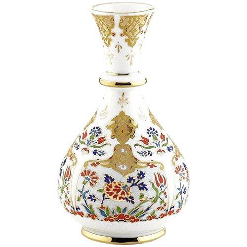 Turkish Kütahya Porcelain Handmade Vase 14