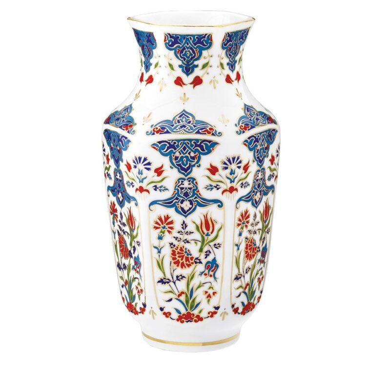 Turkish Kütahya Porcelain Handmade Vase 24