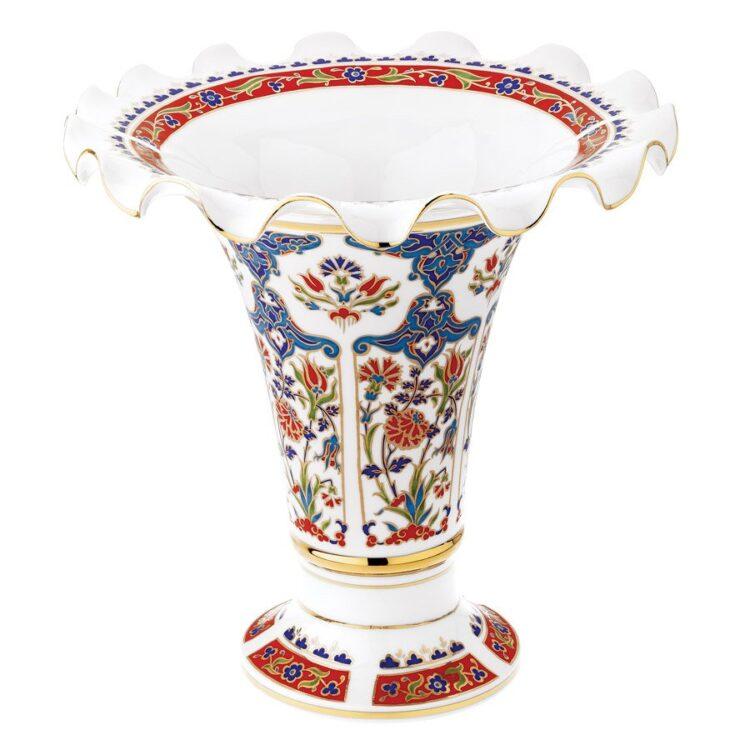 Turkish Kütahya Porcelain Handmade Vase 25