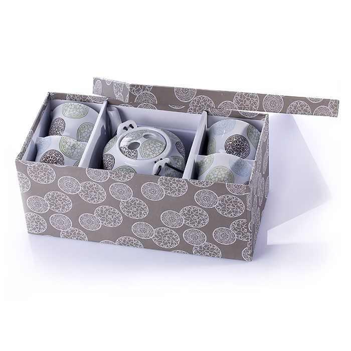 Gürallar Arma Turkish Tea Porcelain Set