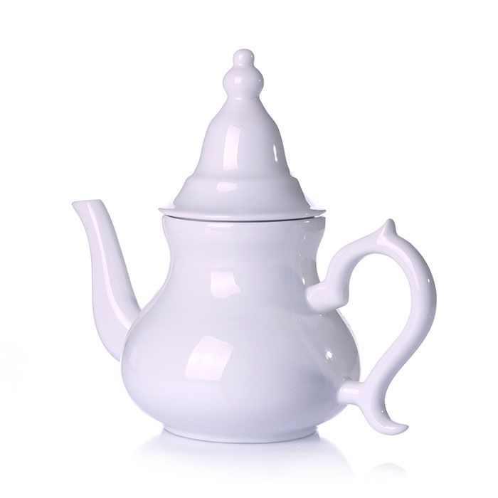 Gürallar Porcelain Castle Turkish Tea Set