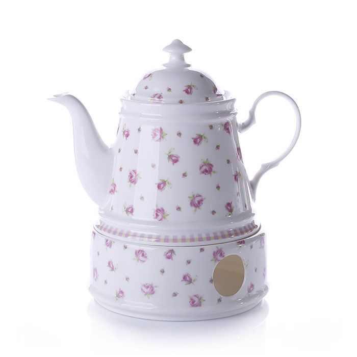 Gürallar Porcelain Spring Turkish Tea Set