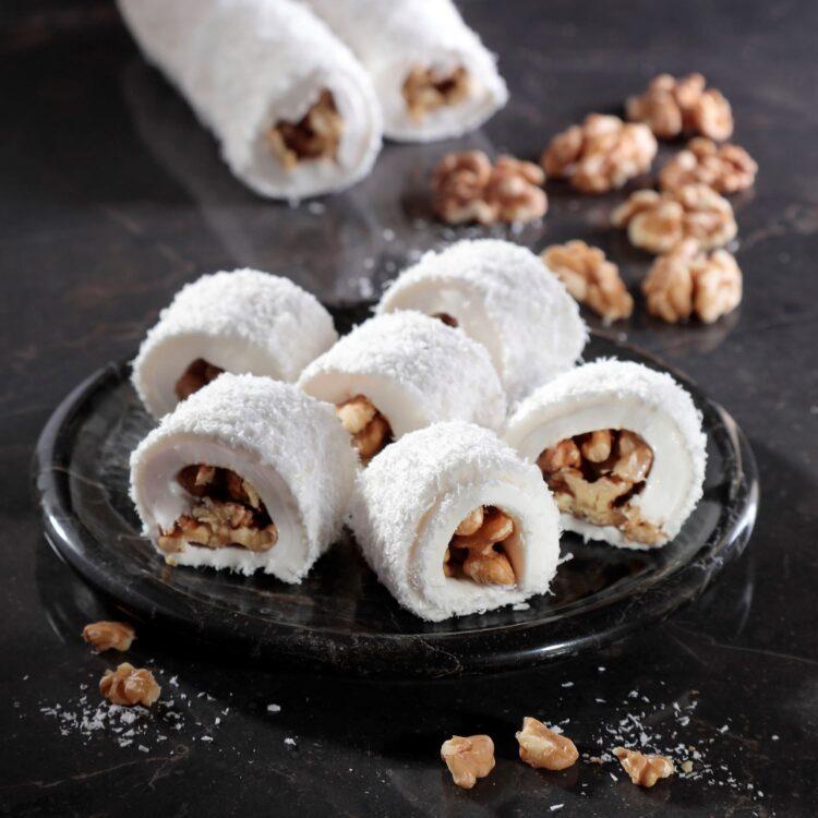 Turkish Delight Sultan (Walnut Coconut Covered) - İkbal