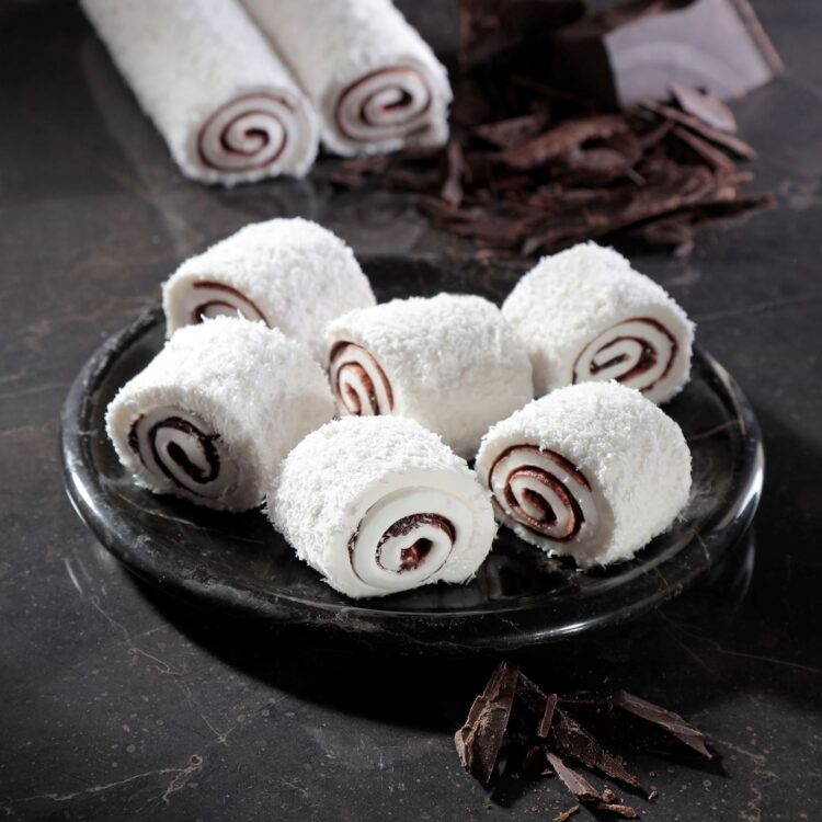 Turkish Delight Sultan (Chocolate Coconut Covered) - İkbal