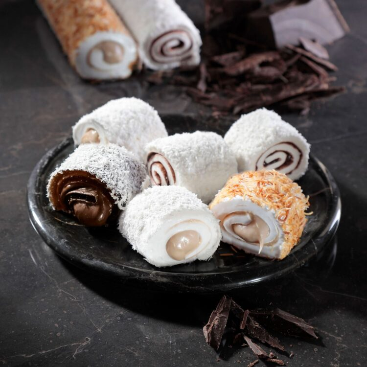 Turkish Delight Sultan Mixed (Chocolate, Hazelnut Paste) - İkbal
