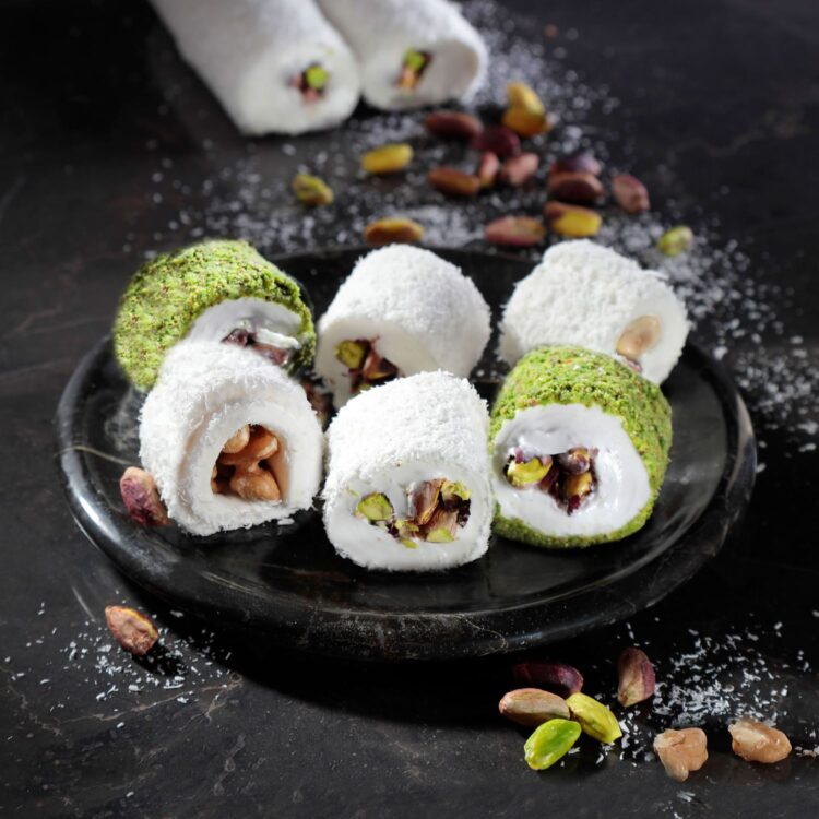 Turkish Delight Sultan Mixed (Walnut, Hazelnut, Fishnet Pistachio, Pistachio) - İkbal