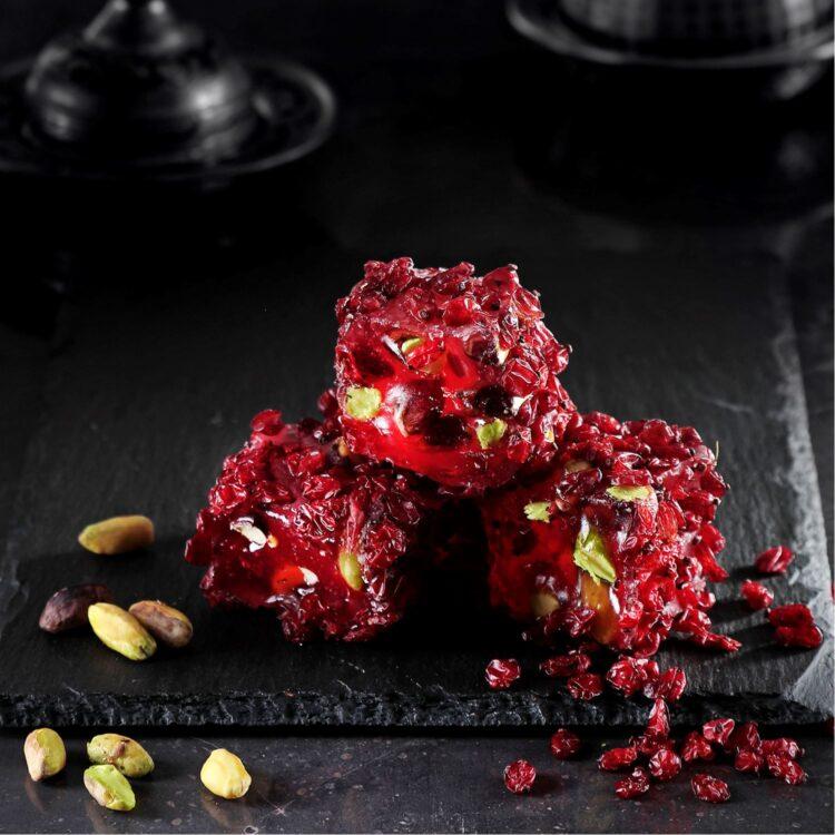 Turkish Delight (Zeresk Grape With Pomegranate Flavored Pistachio) - İkbal